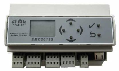 Picture of Matični sat za dvije satne grupe sa programatorom ELAK EMC2013S