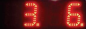 Picture of Javni četverostrani sat sa analognim i digitalnim prikazom vremena i temperature ELAK EPC4AD