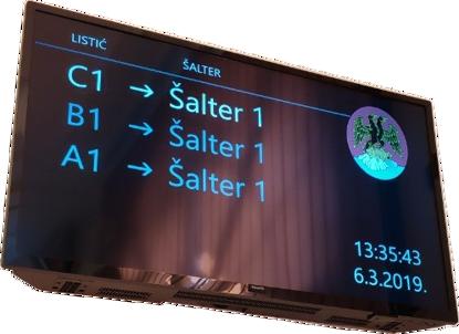 Picture of Queue System - ELAK Redomat