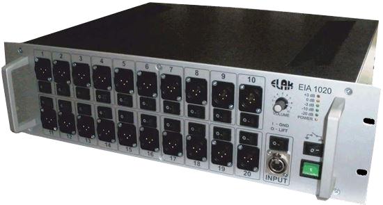 Picture of Izolirani Audio distributor ELAK EIA1020